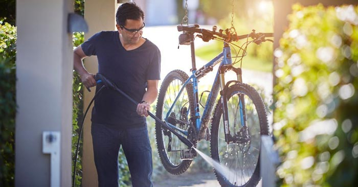 Nilfisk Hochdruckreiniger Fahrrad