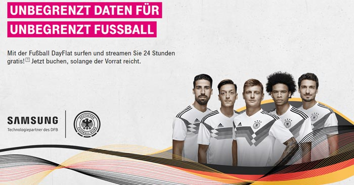 Telekom Fußball DayFlat