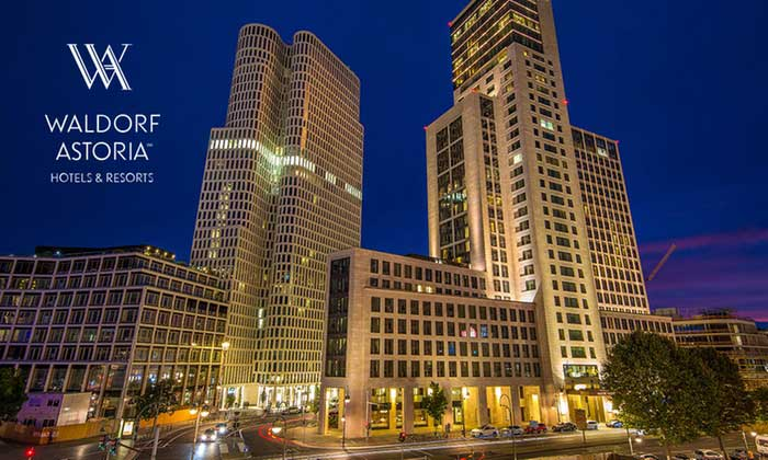 Abendessen im Waldorf Astoria Berlin