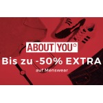 50% Extra-Rabatt auf About You Menswear