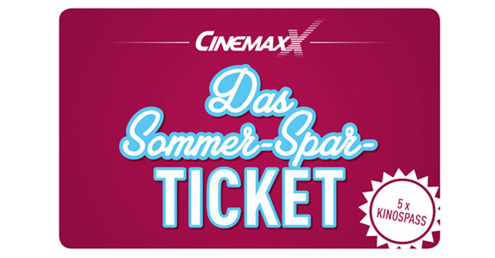 Cinemaxx Sommer-Spar-Ticket