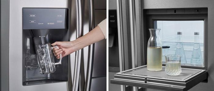 Comfee Kühlschrank Eiswürfelspender & Barfach
