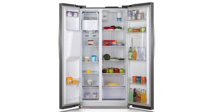 Comfee Kühlschrank Innenansicht