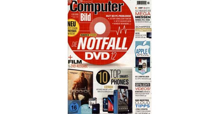 Computer Bild mit DVD Prämienabo