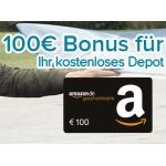 Kostenloses Consorsbank Depot + 100€ Amazon Gutschein