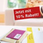10% Gutschein für den Deutsche Post Lagerservice – Briefe im Urlaub einlagern