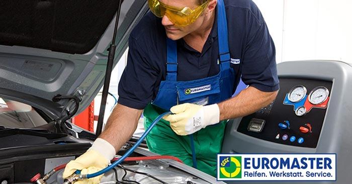 Euromaster Klimaanlagen-Wartung