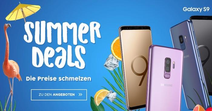Congstar Allnet Flat Plus + Galaxy S9