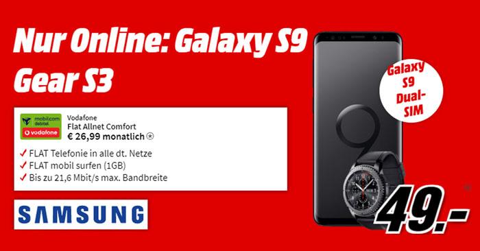 samsung galaxy s9 ratenkauf media markt