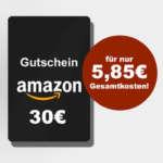 3x Klarmobil Handy Spar Tarif für 5,85€ + 30€ Amazon Gutschein bei Logitel