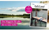 """Magazin """"Aufs Land"""" gratis"""