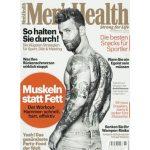 4 Ausgaben Mens Health für 17,70€ + 17,70€ Verrechnungsscheck
