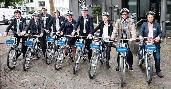 NextBike Freiminuten Bonn