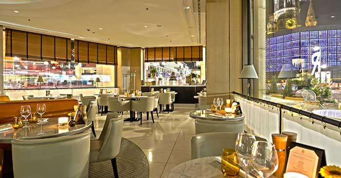 ROCA Restaurant Innenansicht