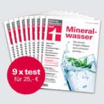 """Stiftung Warentest Abo (9 Ausgaben) + Finanztest """"Vorsorge-Set"""" & Notizbuch für 25€"""