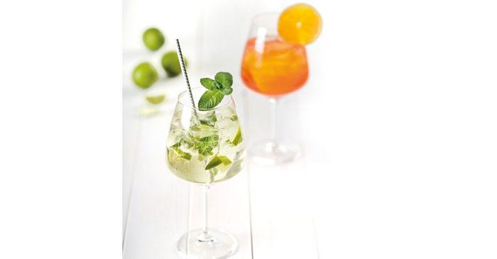 Villeroy & Boch Glas für Hugo oder Aperol Spritz