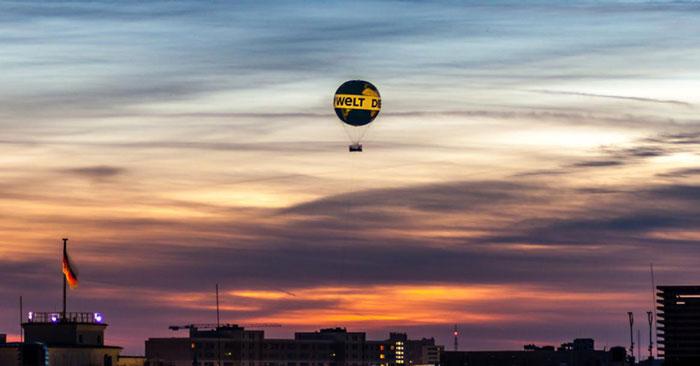 Weltballon Gutschein