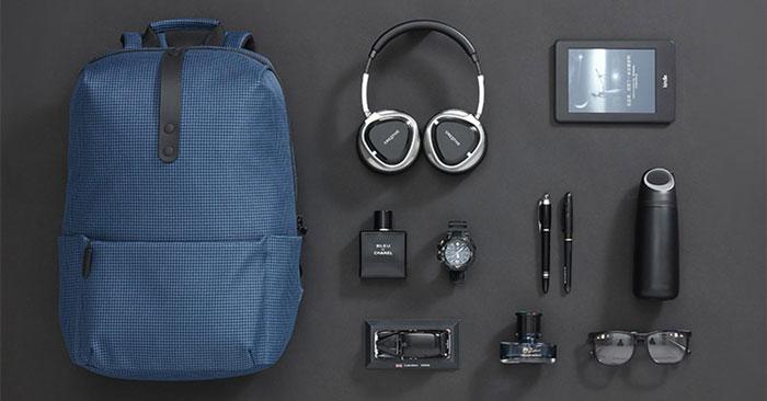 Xiaomi College Style Rucksack Blau
