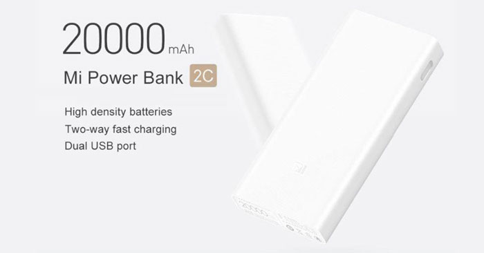 Original Xiaomi Mi Powerbank 2C