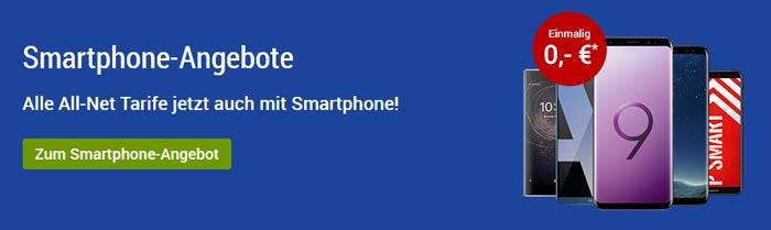 GMX 1&1 Handytarif mit Smartphone