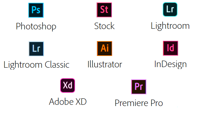 Adobe Creative Cloud Programme