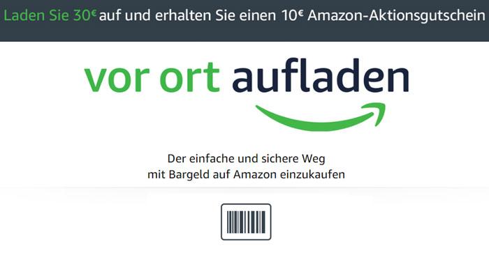 Amazon vor Ort aufladen