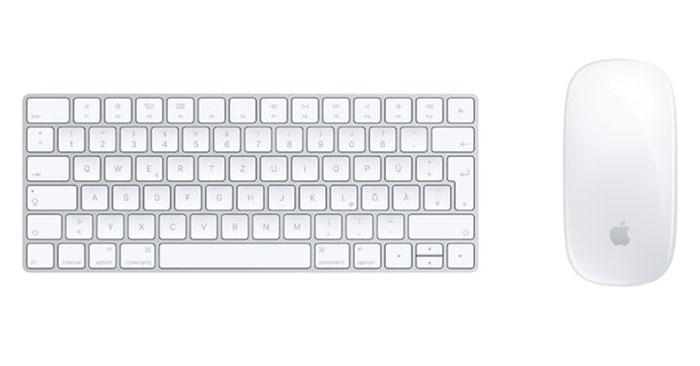Apple Bundle: Magic Keyboard + Magic Mouse 2