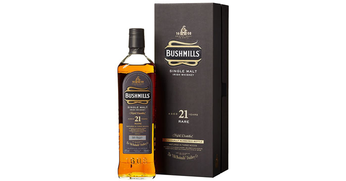 Bushmills Single Malt Irish Whiskey 21 Jahre