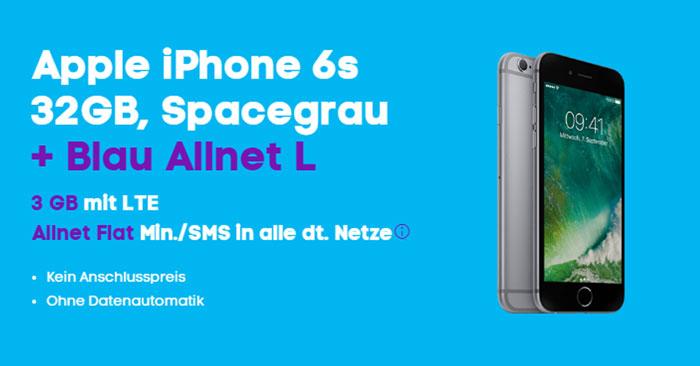 Apple iPhone 6s + Blau Allnet L