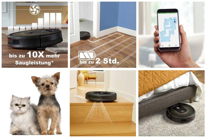 iRobot Roomba 980 Features