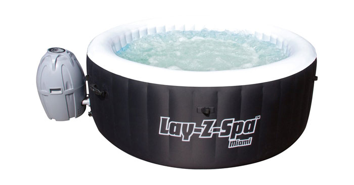 Bestway Lay-Z-Spa Whirlpool Miami