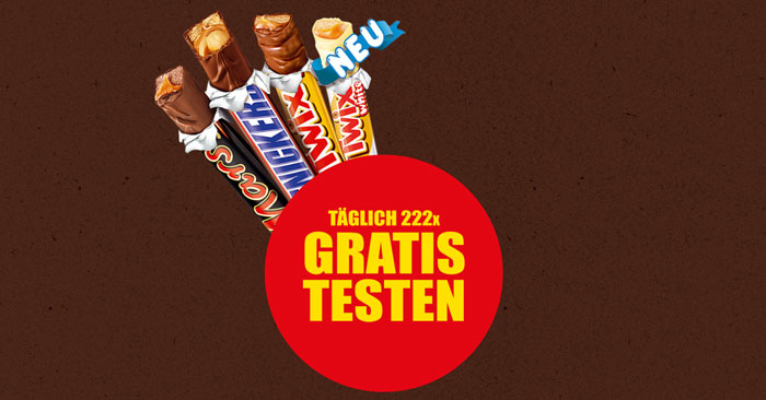 Mars, Snickers, Twix Sticks