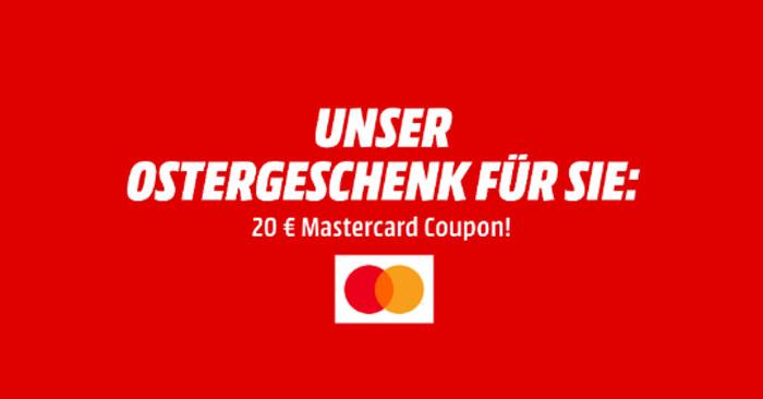 Media Markt Mastercard Gutschein