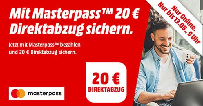 Media Markt Masterpass Gutschein