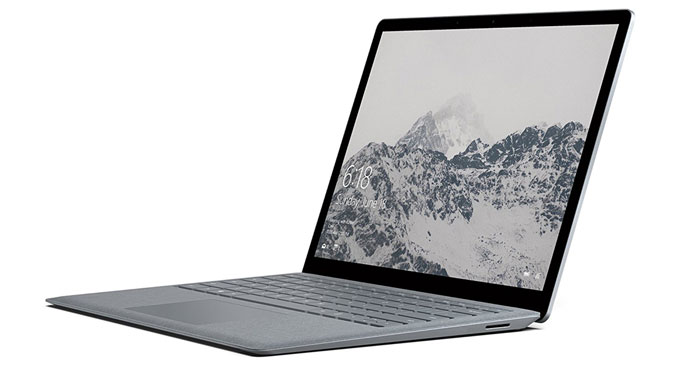 Microsoft Surface Notebook Front