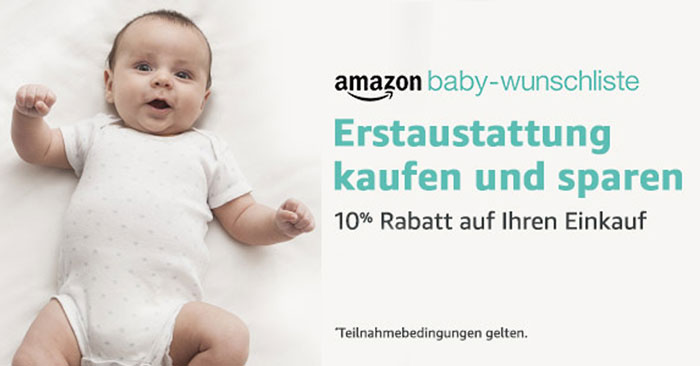 Amazon Baby Wunschliste Gutschein