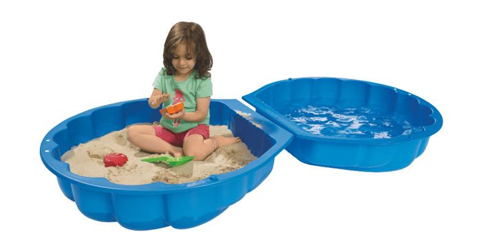 BIG Sandmuschel/Wassermuschel