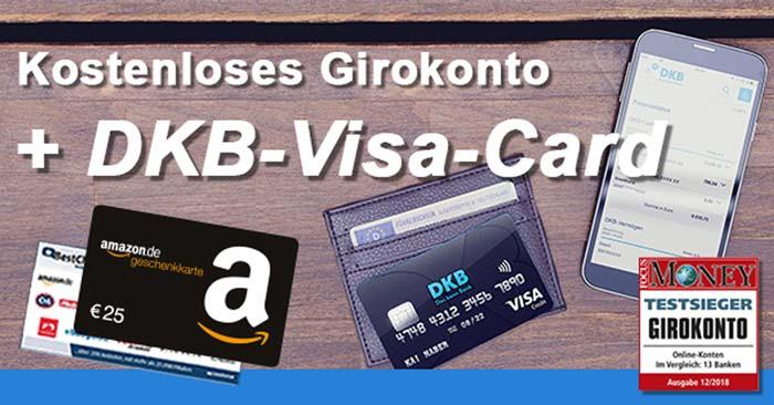 Kostenloses DKB Girokonto + Amazon Gutschein