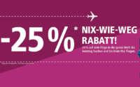 Eurowings Sale - Nix-wie-weg Rabatt