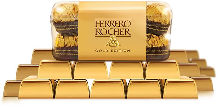 Ferrero Rocher Gold Edition
