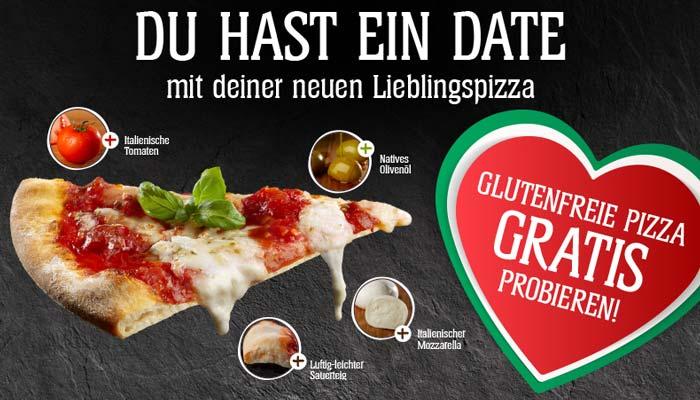 Glutenfreie Pizza von Schär kostenlos