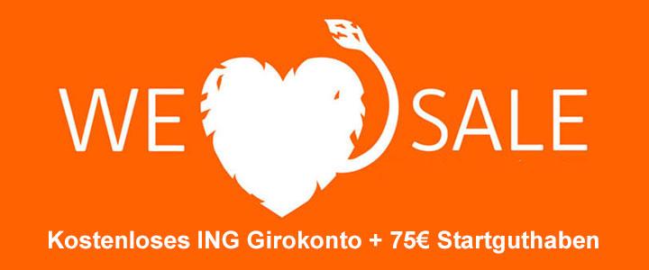 ING Girokonto Startguthaben