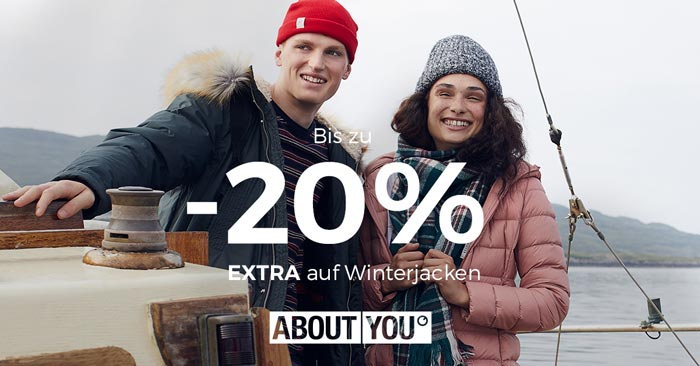 About You Winterjacken Rabatt