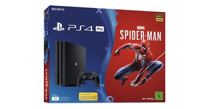 PlayStation 4 Pro + Spiderman