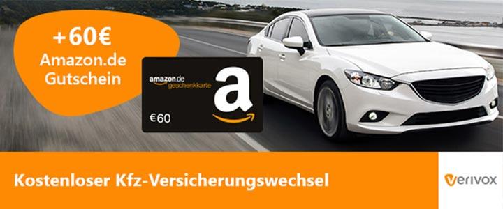Verivox KFZ Amazon Gutschein
