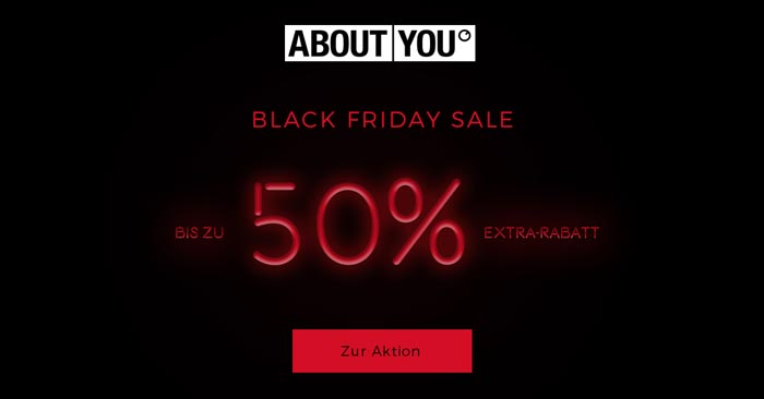 About You Black Friday Sale
