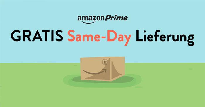 Amazon Prime Now Gutschein