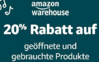 Amazon Warehouse Deals Rabatt
