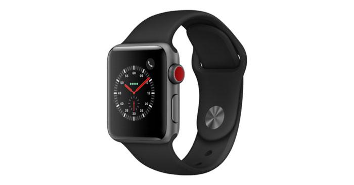 Apple Watch Series 3 LTE schwarz
