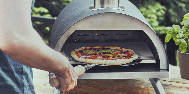 Burnhard Outdoor Pizzaofen Nero